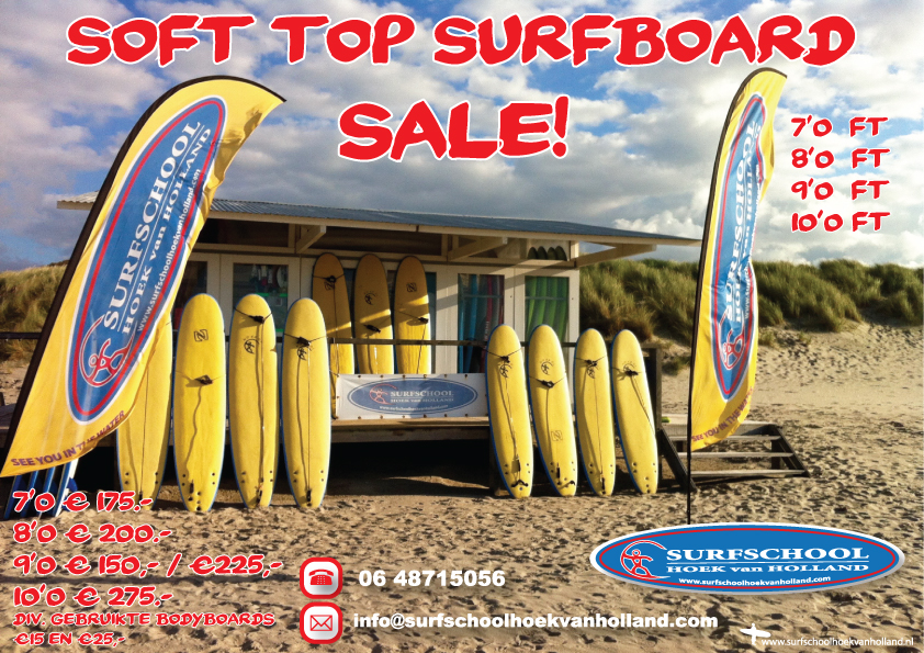 Soft top sale Surfschool Hoek van Holland